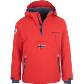 TROLLKIDS Kirkenes Anorak Kinderen, rood